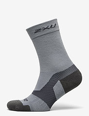 2XU - VECTR MERINO LIGHT CUSHION CR - kousen - grey/grey - 0