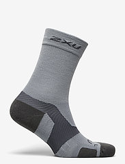 2XU - VECTR MERINO LIGHT CUSHION CR - kousen - grey/grey - 1