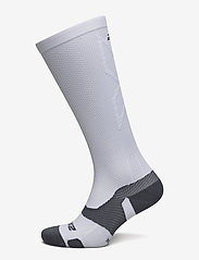 2XU - VECTR LIGHT CUSHION FULL LENG - sokker - white/grey - 0