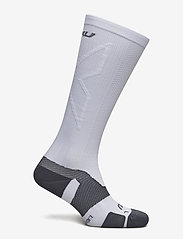 2XU - VECTR LIGHT CUSHION FULL LENG - sokker - white/grey - 1