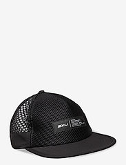 2XU - LIGHT SPEED TRUCKER - flat caps - black/finish lines white - 0