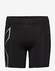 2XU - CORE COMPRESSION 5 INCH SHORT - spodenki treningowe - black/silver - 0