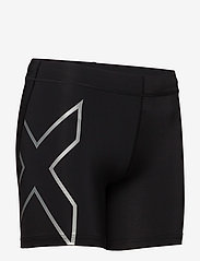 2XU - CORE COMPRESSION 5 INCH SHORT - shorts - black/silver - 2