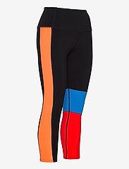 2XU - FORM BLOCK HI-RISE COMPRESSIO - sportleggings - black/high risk red - 2