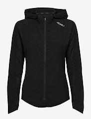 2XU - XVENT Run Jacket-W - sports jackets - black/silver reflective - 1