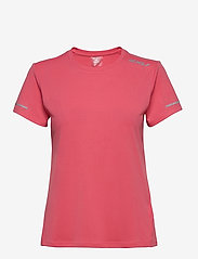 2XU - XVENT G2 S/S Tee-W - t-shirts - pink lift/silver reflective - 0