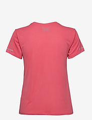 2XU - XVENT G2 S/S Tee-W - t-shirts - pink lift/silver reflective - 1