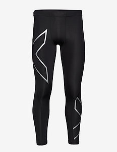 CORE COMPRESSION TIGHTS - running & training tights - black/silver
