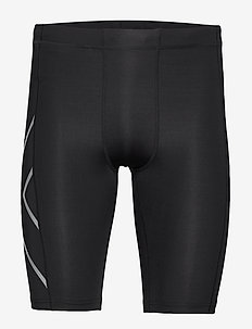 CORE COMPRESSION SHORTS - training korte broek - black/silver
