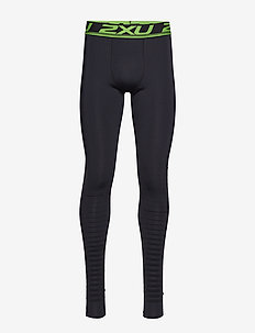 POWER RECOVERY COMPRESSION TI - running & training tights - black/nero