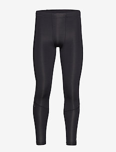 Run Comp Tights w/Back Storage-M - running & training tights - black/black reflective