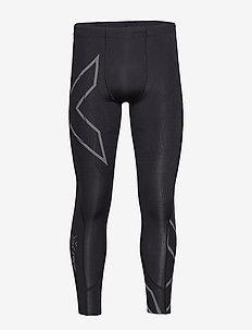 LIGHT SPEED COMPRESSION TIGHT - løbe- og træningstights - black/ black reflective