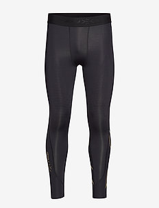FORCE COMPRESSION TIGHTS - sportleggings - black/gold