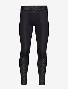 Accel Comp Tight w Storage-M - BLACK/TEXURED MESH CHARCOAL