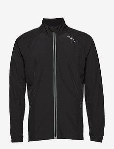 X-VENT Run Jacket-M - BLACK/BLACK