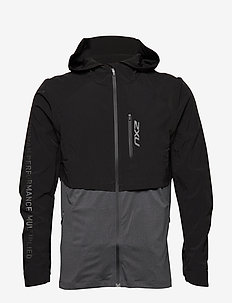 GHST 2 In 1 Jacket-M - BLACK/BLACK MARLE