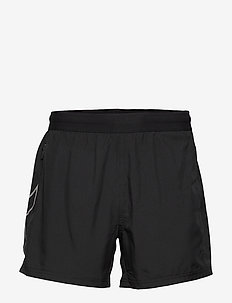 XVENT 5Inch2in1 Comp Short-M - BLACK/SILVER REFLECTIVE