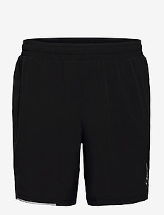 XVENT 7 Inch Short-M - spodenki treningowe - black/silver reflective