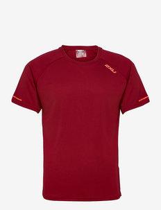 AERO TEE - t-shirts - rhubarb/fiesta reflective