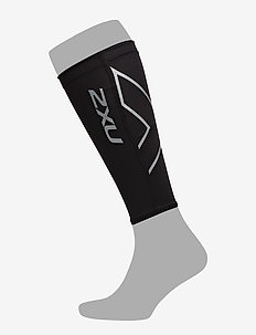 COMPRESSION CALF GUARDS - kuitsteunen - black/black