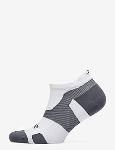 Vectr LightCush NoShow Sock-U - WHITE/GREY
