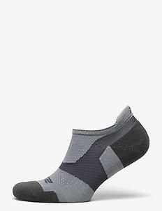 VECTR MERINO LIGHT NO SHOW SO - kousen - grey/grey