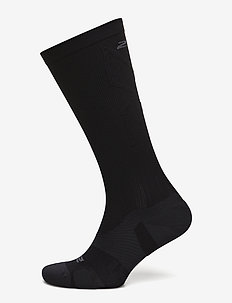 VECTR LIGHT CUSHION FULL LENG - sockor - black/titanium