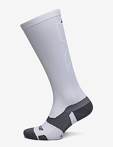 VECTR Light Cushion Full Length Socks-U - vanliga strumpor - white/grey