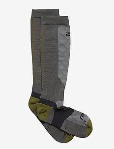 VECTR ALPINE COMPRESSION SOCK - sockor - titanium/winter moss
