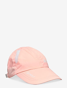 RUN CAP - petten - pop coral/white