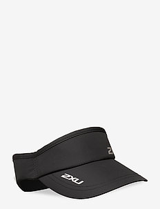 RUN VISOR - petten - black/black