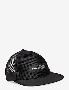 LIGHT SPEED TRUCKER - flat caps - black/finish lines white