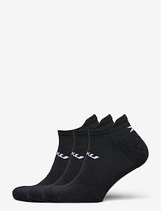 ANKLE SOCKS 3 PACK - steps & footies - black/white