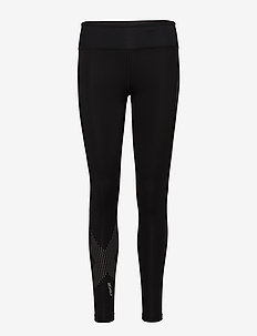 MOTION MID-RISE COMPRESSION T - collants d'entraînement - black/dotted reflective logo