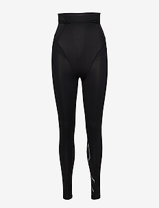 Postnatal Maternity Comp Tights-W - kompressionstights - black/silver