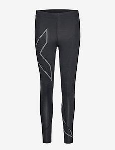 MCS Run Compression Tights-W - compression tights - black/black reflective