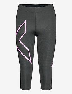 MCS Run Compression 3/4 Tights-W - running & training tights - black/ultra reflective