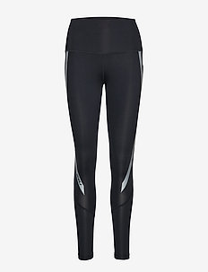 Hi-Rise Compression Tights-W - kompressiotrikoot - black/silver