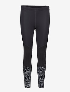Wind Defence Comp Tights - kompressionstights - black/silver glo reflective