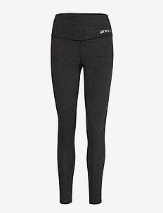 Fitness Hi-Rise Comp Tights - WAVE SPOT CHARCOAL/SILVER