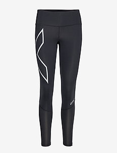 Run Mid-Rise Dash Comp Tight-W - kompressiotrikoot - black/silver reflective