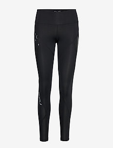 Mid-Rise TexturalComp Tight-W - BLACK/TEXTURAL GEO