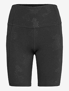 FORM STASH HI-RISE BIKE SHORT - träningsshorts - embossed blossom camo/black ou