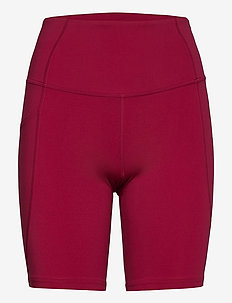 FORM STASH HI-RISE BIKE SHORT - training korte broek - cyber maroon/cyber maroon