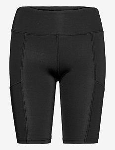 AERO VENT MID-RISE COMPRESSIO - training korte broek - black/silver reflective