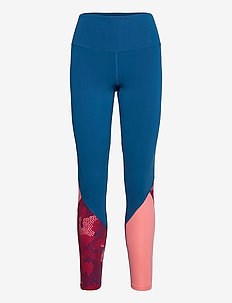 Fitness Hi-Rise Stride Comp Tight-W - kompressionstights - poseidon/blossom camo