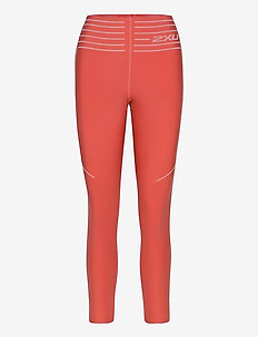 NO DISTRACTION HI-RISE COMPRE - sportleggings - cranberry/rosette