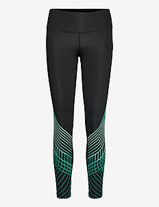 MOTION TEXTURE MID-RISE COMPR - sportleggings - black/botanical