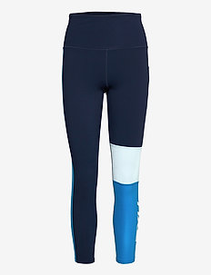 FORM BLOCK HI-RISE COMPRESSIO - sportleggings - midnight/white