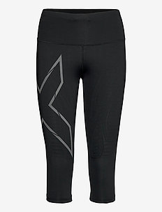 LIGHT SPEED MID-RISE COMPRESS - sportleggings - black/ black reflective